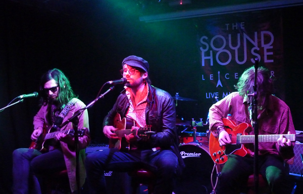 Suicide Bees at The Soundhouse - 23rd April 2016. Photo: Keith Jobey.