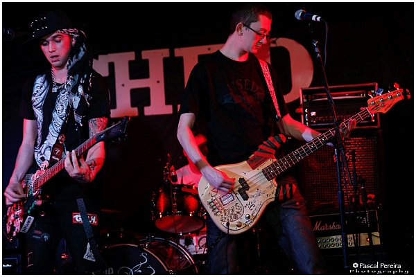 Damaged Band at The Shed, April 2016. © Pascal Pereira Photography