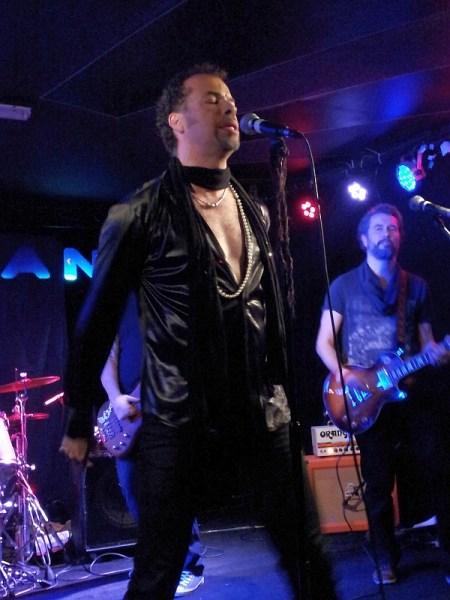 Alex Smith of De Sade at The Musician in 2016.