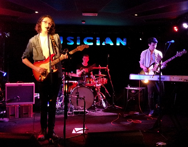 Trilogy at The Musician, April 2016.