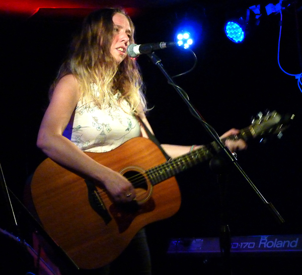 Meri Everitt at The Musician - 27th May 2016. Photo: Keith Jobey