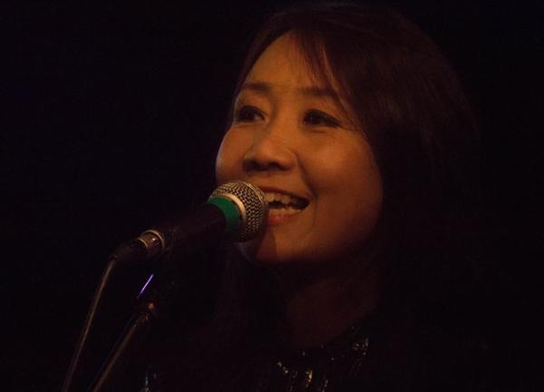 Naoko Yamano of Shonen Knife at The Musician - 6th May. Photo: HSD