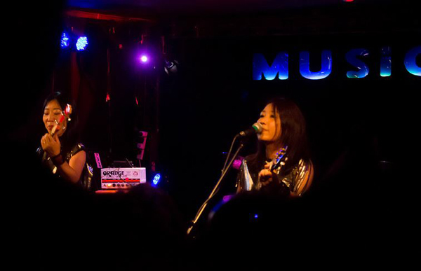 Shonen Knife at The Musician - 6th May. Photo: HSD