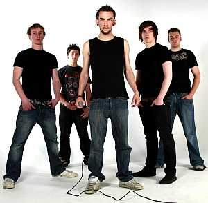 Leicester Band Backline in 2008