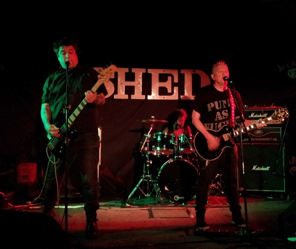 The Lurkers at The Shed, 2016.