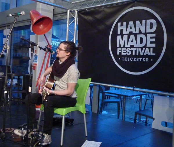 Weikie at Handmade 2016. Photo: Keith Jobey