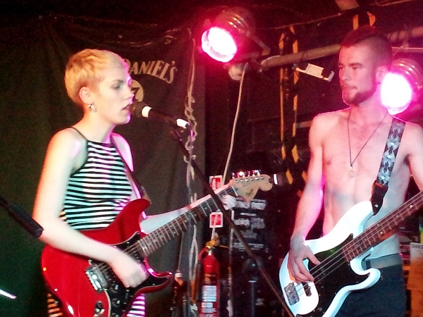Ruby Walvin and Tom Dunphy of Captain Louie, 16th June