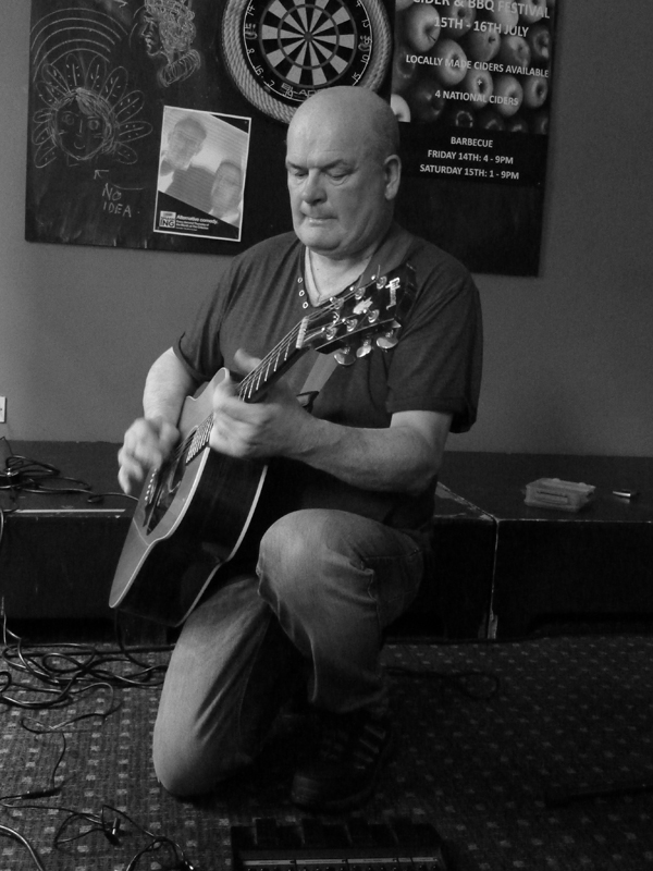 Kevin Hewick at The Criterion - 9th July 2016. Photo: Keith Jobey