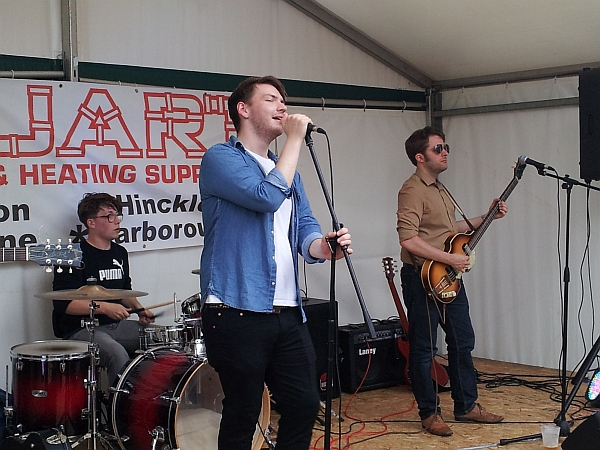 The Dead Shoot at Enderby festival, July 2016