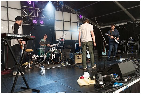 Dayflower on the Marqee stage at Simon Says festival 2016. Photo: Pascal Pereira.