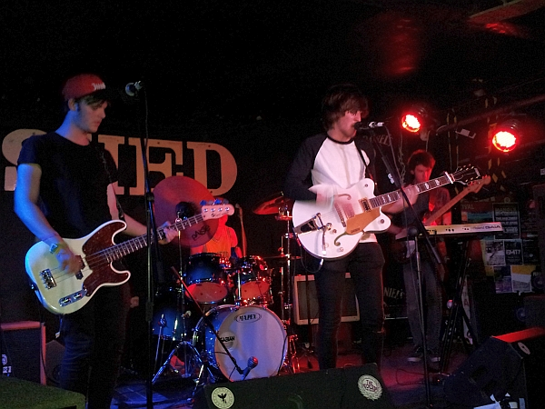 The Rogues at The Shed July 2016