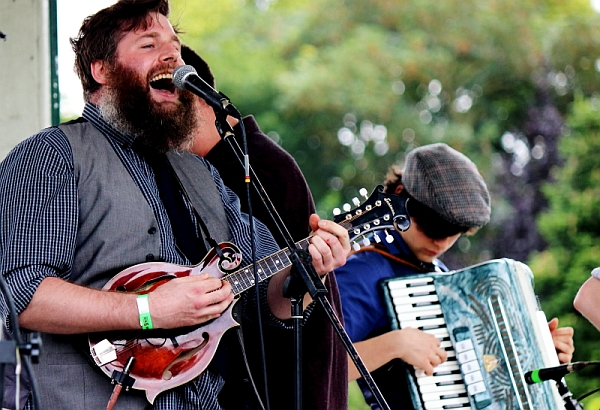 The Whiskey Rebellion at Western Park festival 2016. Photo: Kevin Gaughan.