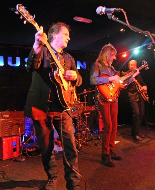 city rockers Diesel Park West performing at The Musician in 2011.