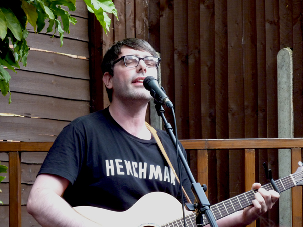 Dan Wallbank at Firebug, 13th Aug 2016. Photo: Keith Jobey