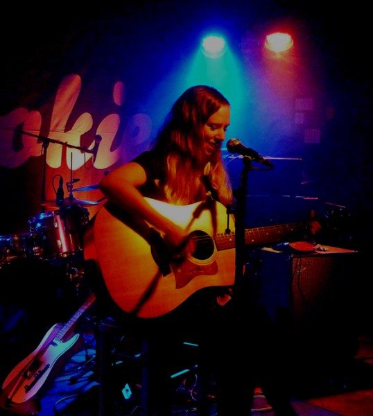 Meri Everitt at the Cookie - 2nd Sept 2016 Photo: Keith Jobey