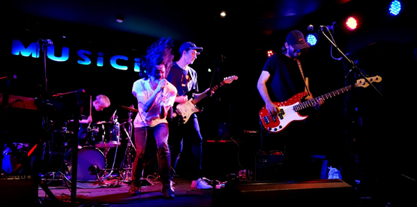 Ash Mammal at the Musician, 31st August 2016. Photo: Trevor Cobbe
