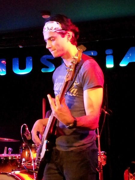 Jakes Bentley of Trilogy at The Musician August 2016
