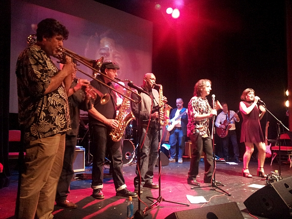 Lickin Stick band at The Y Theatre, September 2016