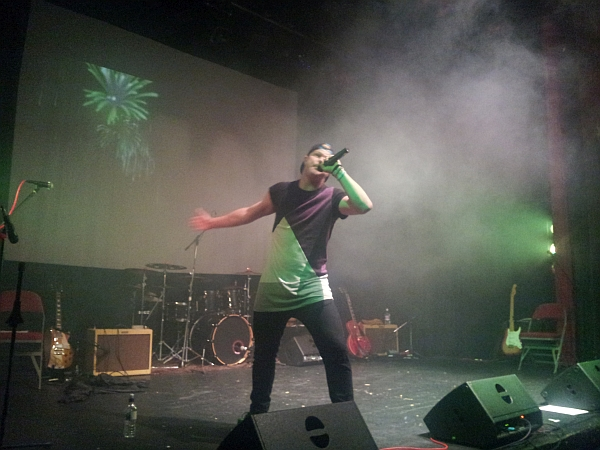 Jonezy at The Y Theatre, September 2016