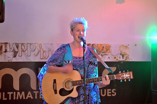 Kaitlyn Elverson performing at Oxjam Leicester 2016. Photo: Trevor Sewell