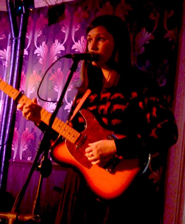 Katie Malco - White Noise Christmas 2016. Firebug. Photo: Keith Jobey.
