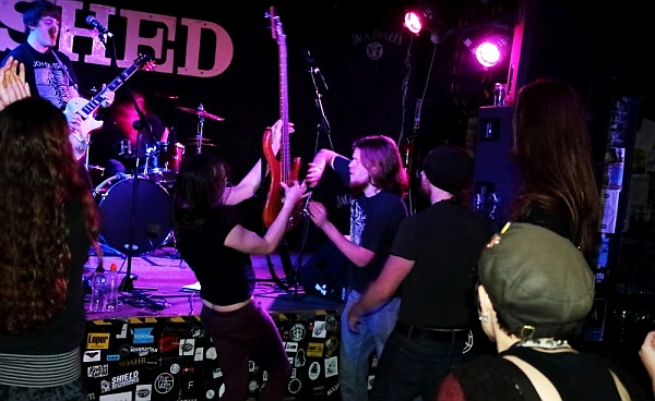 Dead Frequency at The Shed, 25th November 2016. Photo: Kevin Gaughan.