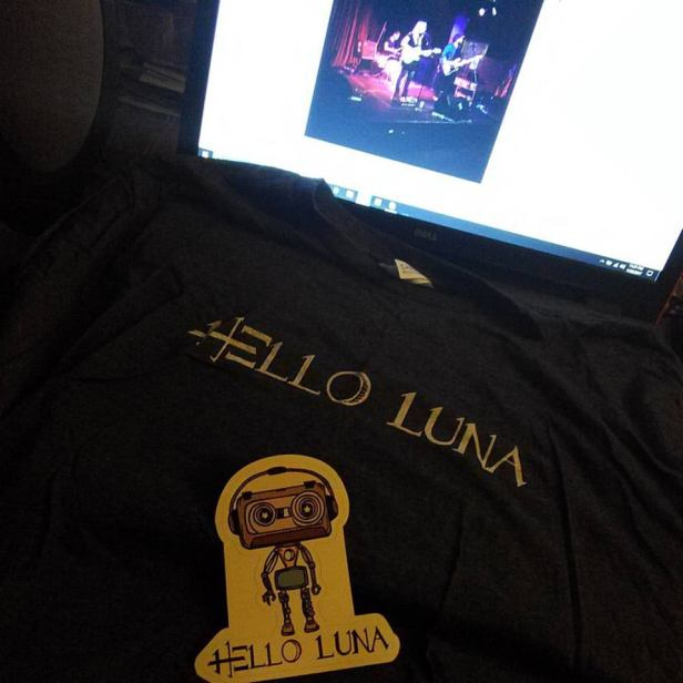 Music in Motion Columbus is doing its part to support local music by buying some Hello Luna merchandise.