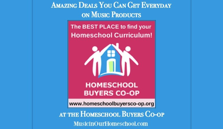 Amazing Deals You Can Get Everyday on Music Products at the Homeschool Buyers Co-op