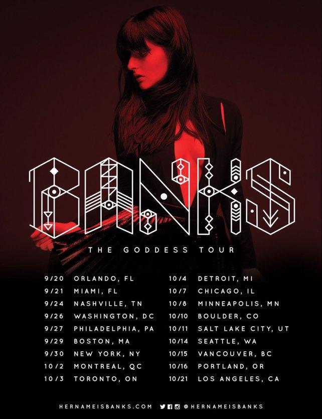 BANKS TOUR