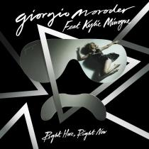 Check out Right Here Right Now, the new single from Giorgio Moroder, featuring Kylie Minogue