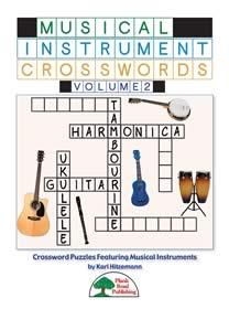 Musical Instrument Crosswords Vol. 2
