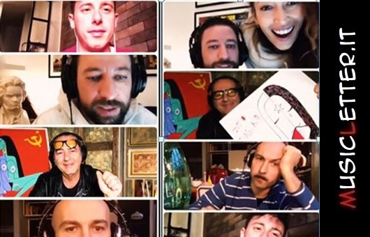 Canzone sbagliata è il videoclip di Danti con Luca Carboni e Shade