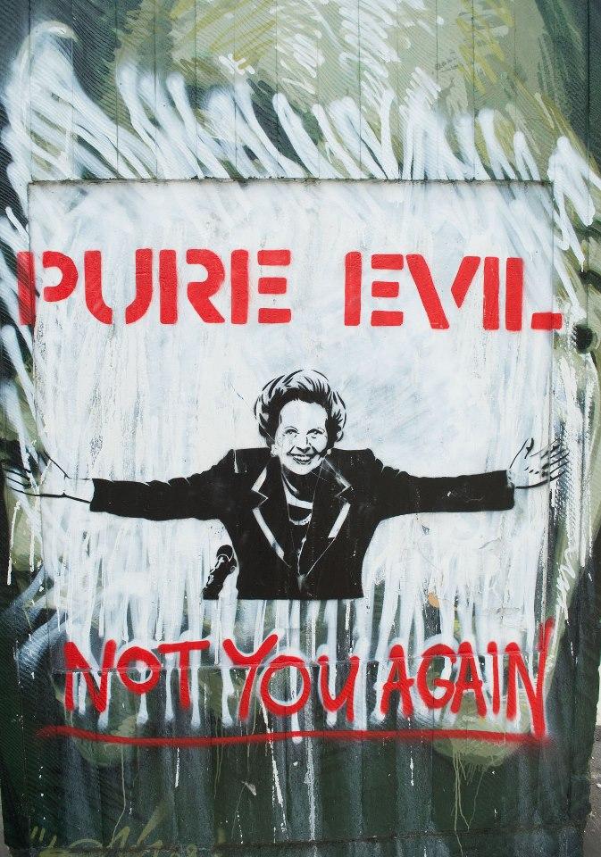 Thatcher evil
