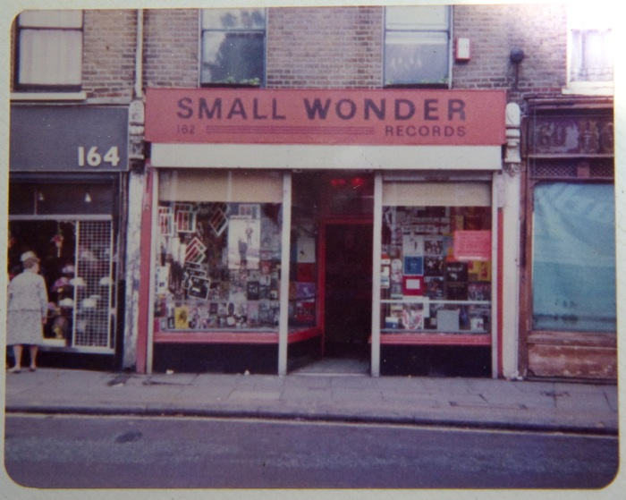 Small Wonder Records - 162 Hoe Street