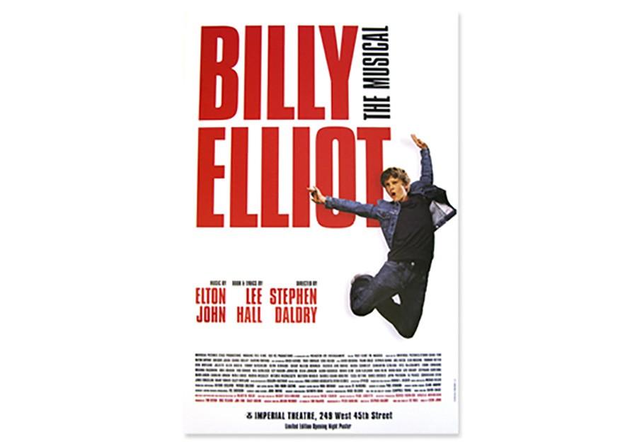 billy elliot broadway poster