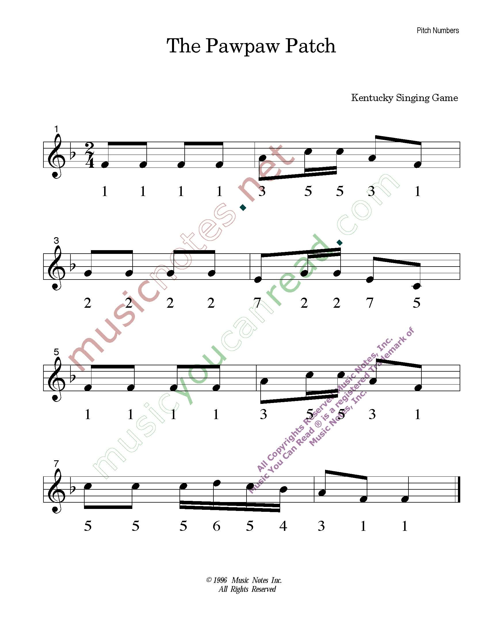 Home Page Music You Can Read Kodaly Orff Solfeggio