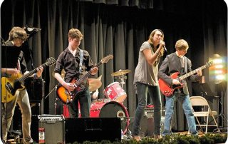 Rock Band Intermediate, performing live in New Jersey...