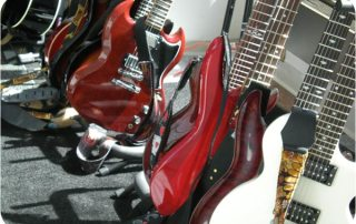 Guitars at 2010's Rock Band Battle of the Bands...
