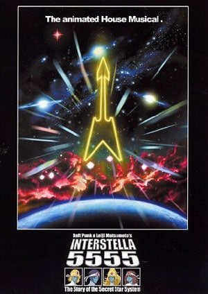 Daft punk interstella 555 music dvds musicomh for House music 2003