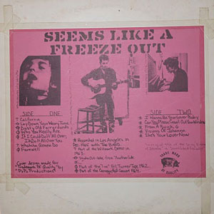 Bob Dylan - Seems Like A Freeze-Out