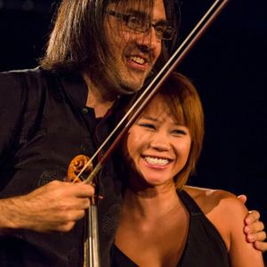 Leonidas Kavakos and Yuja Wang(Photo: Nicolas Brodard)