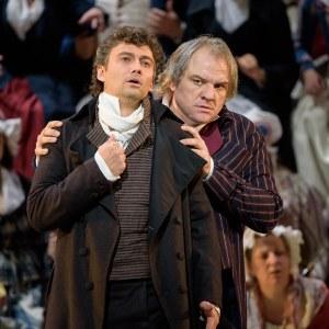 Jonas Kaufmann & Želko Lučić(Photo: Bill Cooper)