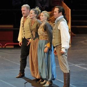 Brenden Patrick Gunnell, Mari Eriksmoen,Sally Matthews & Edgaras Montvidas(Photo: Chris Christodoulou)