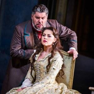 Luca Salsi & Venera Gimadieva(Photo: Tristram Kenton)