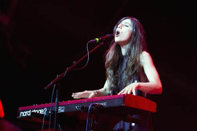 Julia Holter at Primavera Sound 2016