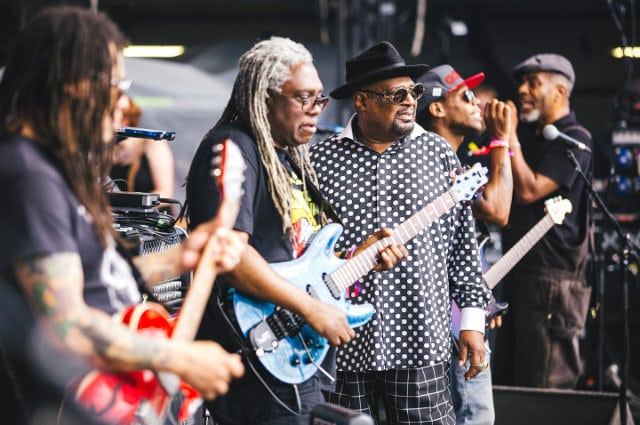 George Clinton, live at Lovebox 2016