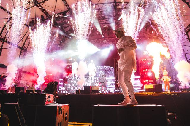 Major Lazer, live at Lovebox 2016