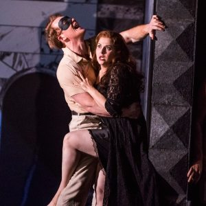 Duncan Rock & Anna Maria Labin(Photo: Tristram Kenton)