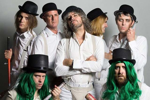 The Flaming Lips will headline Kaleidoscope on Saturday at Alexandra Palace