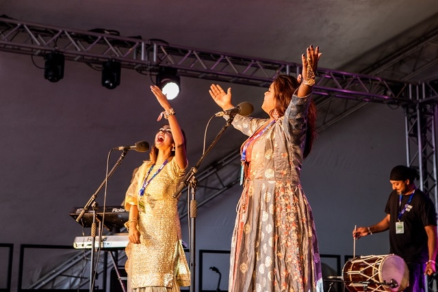 Hashmat Sultana at WOMAD 2018